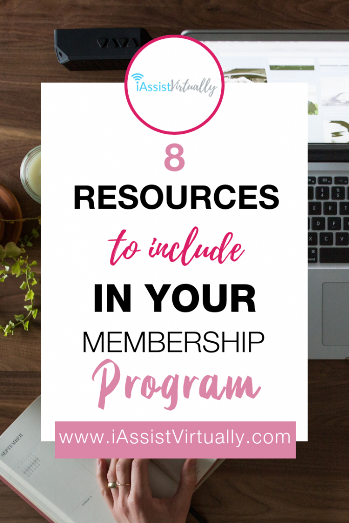 Eight Resources to Include in Your Membership Program