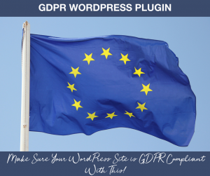 GDPR WordPress Plugin