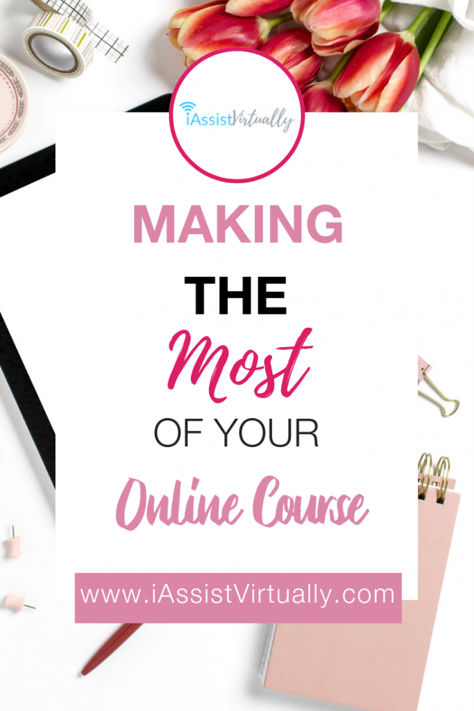 Pinterest Making the Most of Your Online Course