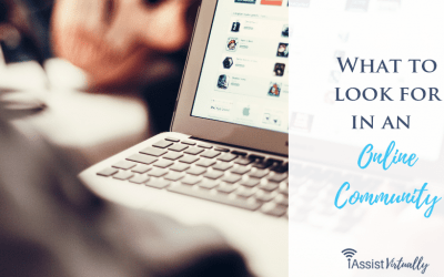 What to Look For in an Online Community