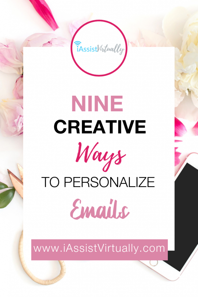 Pinterest  - Nine Creative Ways to Personalize Emails
