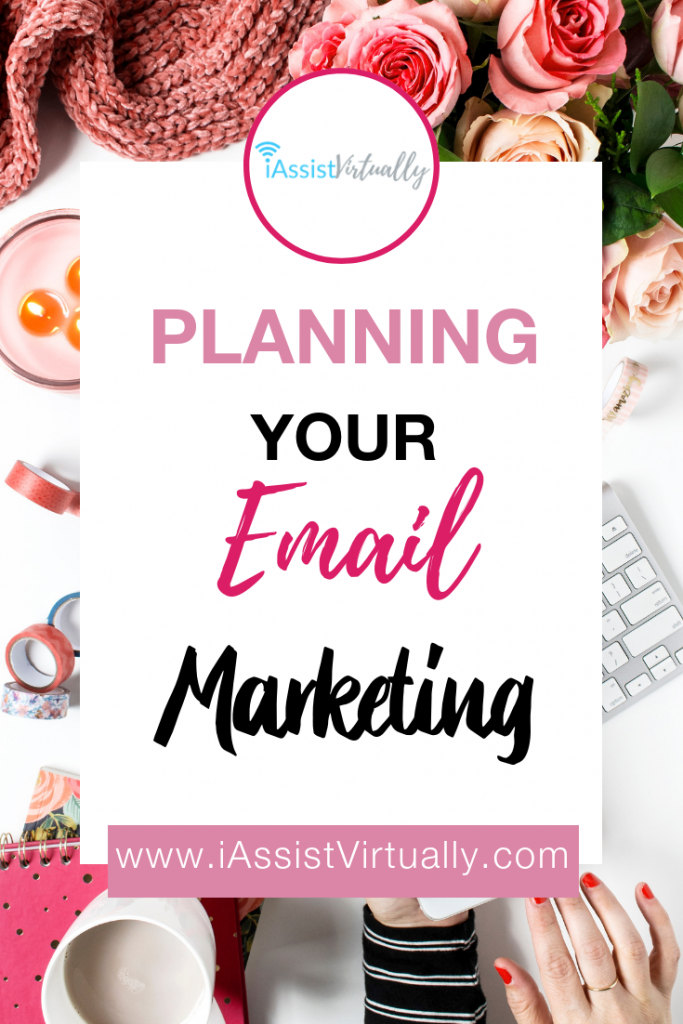 Pinterest - Planning Your Email Marketing