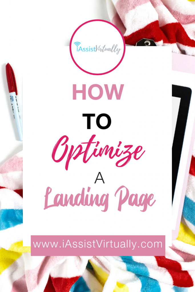 Pinterest How to Optimize a Landing Page