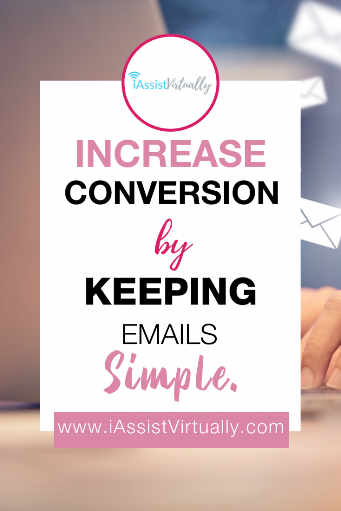 Pinterest - Increase Conversion by keeping emails simple