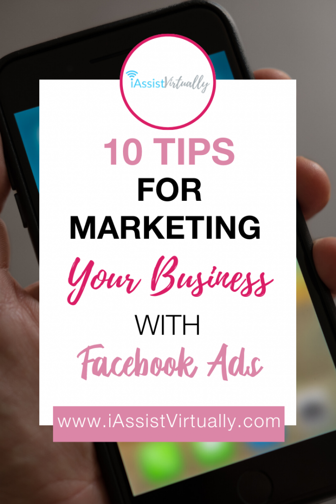 Pinterest 10 Tips for Marketing Your Business with Facebook Advertising